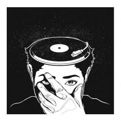 Vinyl Head miniprint